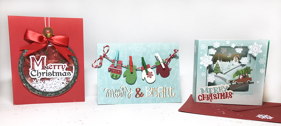 Sally hamilton christmas card kits for michaels m4hsunfo